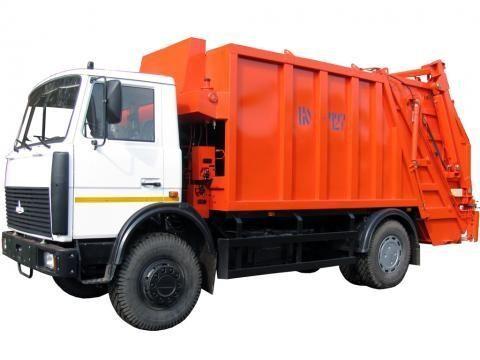 MAZ KO-427-34  camion poubelle