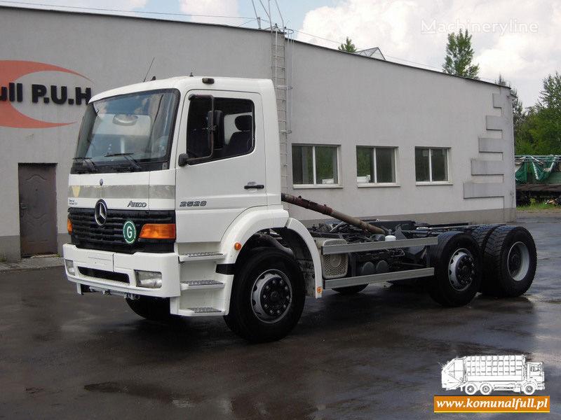 MERCEDES-BENZ Atego 2528 camion poubelle