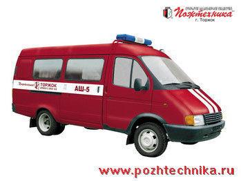 GAZ ASh-5 poste de commandement mobile