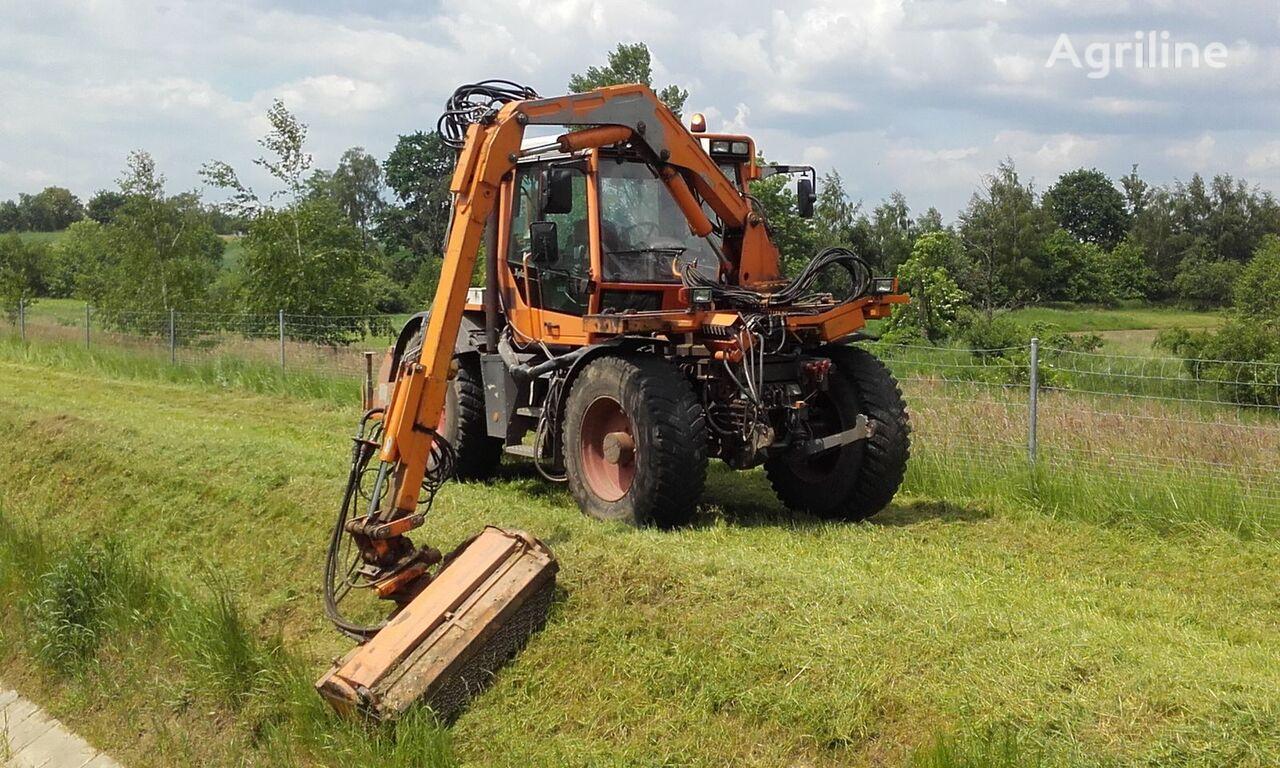 FENDT Xylon Kosiarka MULAG Schmidt Mähgeräte tracteur à roues