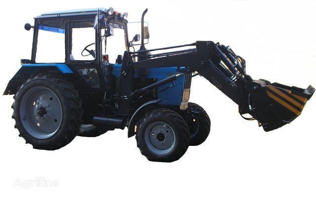Frontalnyy chelyustnoy BAM-2021 na traktore MTZ tracteur à roues