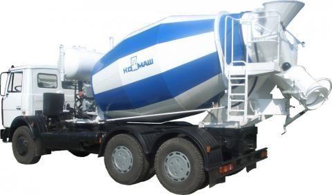MAZ 6303  camion malaxeur
