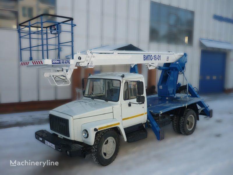 GAZ 3309 camion nacelle