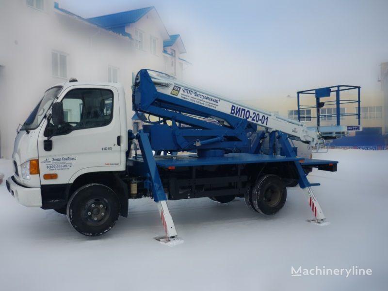 HYUNDAI Avtopodemnik  camion nacelle