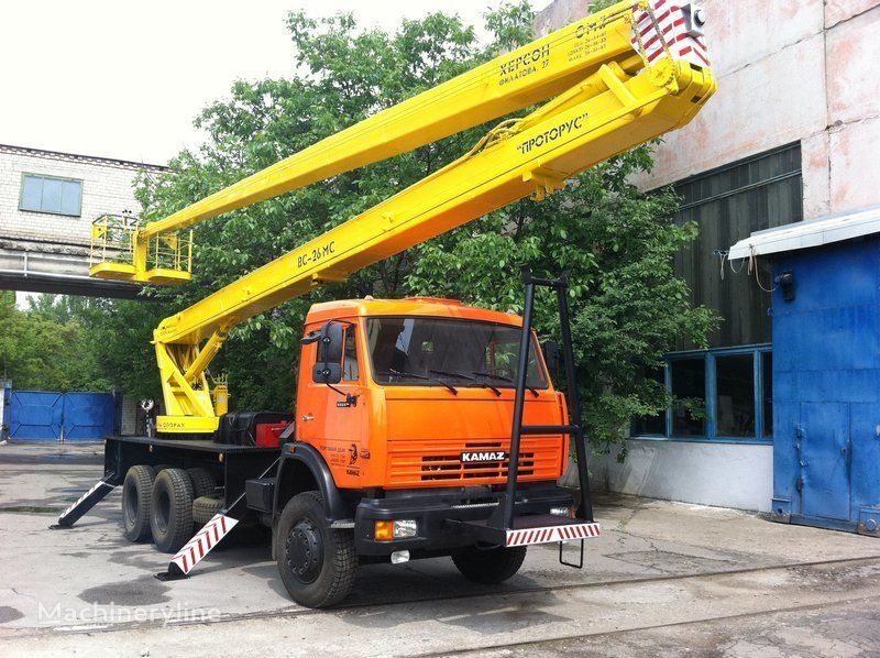 KAMAZ VS—26  camion nacelle