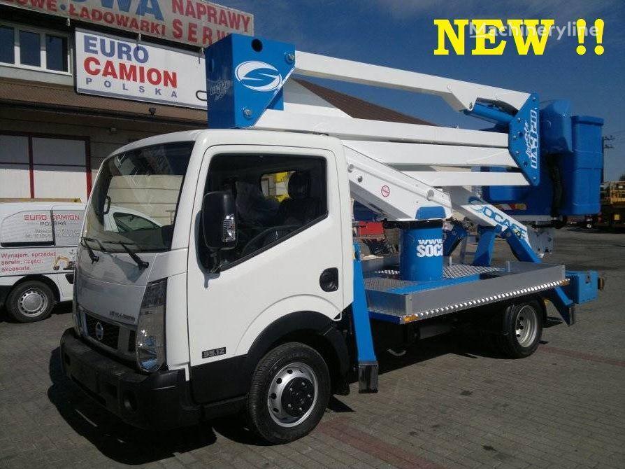 NISSAN Cabstar podnośnik koszowy zwyżka 20m camion nacelle neuf