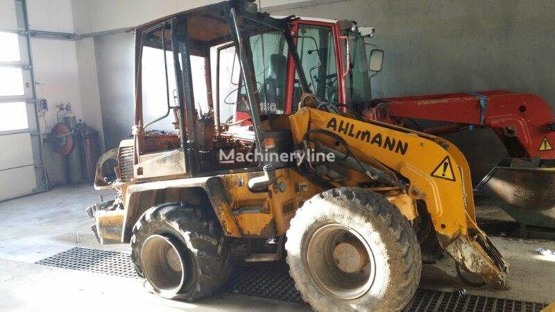 AHLMANN AS50 chargeur sur pneus