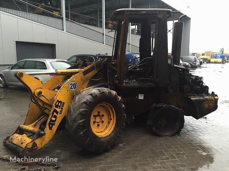 JCB 407BZX (For Parts) chargeur sur pneus