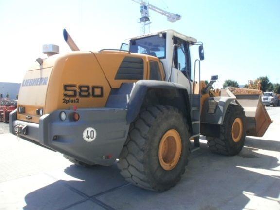 LIEBHERR L580 2plus2  chargeur sur pneus