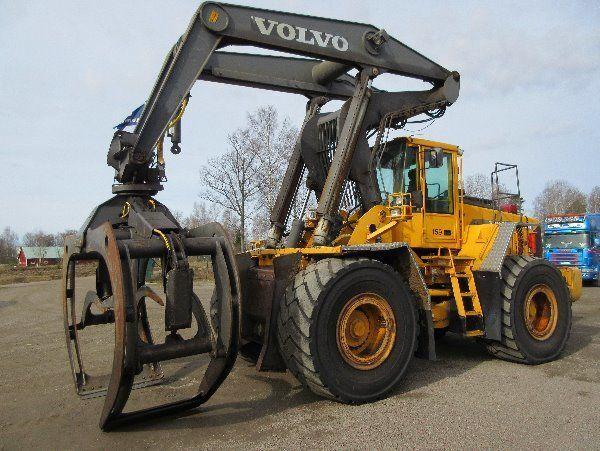 VOLVO L180D HL chargeur sur pneus pour pièces de rechange