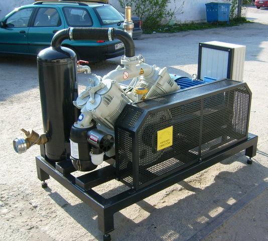 SB1 BETICO z silnikiem elektrycznym compresseur