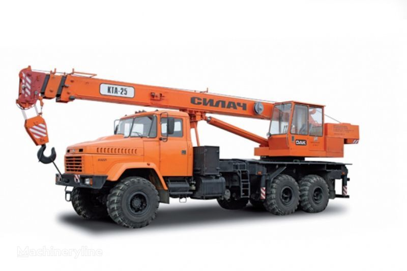 KRAZ 65053 grue mobile