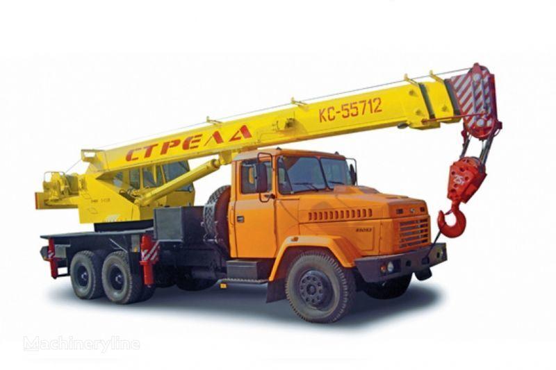 KRAZ 65053 (KTA-25) i KrAZ-63221 (KTA-25)  grue mobile
