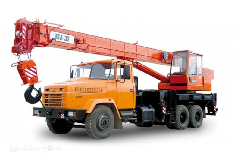 KRAZ 65053 (KTA-32)  grue mobile