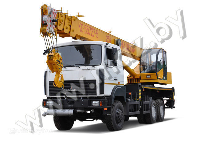 MAZ KS-55727-5-11, 12, 21, 22 grue mobile