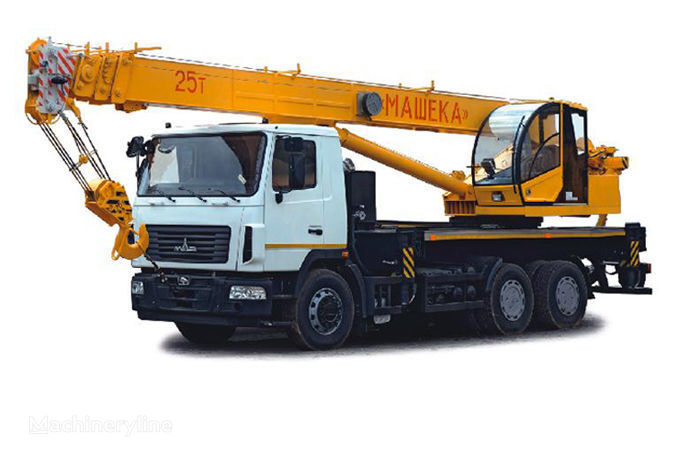 MAZ KS-55727-A, B grue mobile
