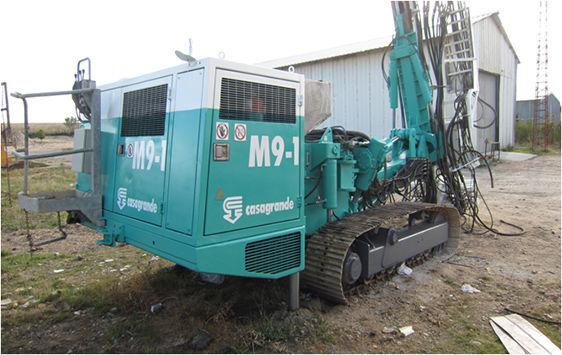 CASAGRANDE M9 machine de forage
