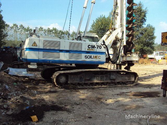 Soilmec CM 70. machine de forage