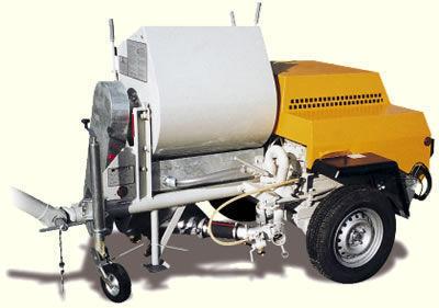 PUTZMEISTER P 13 machine à plâtre neuf