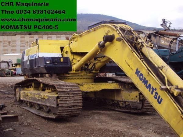 KOMATSU PC400-5 pelle sur chenilles