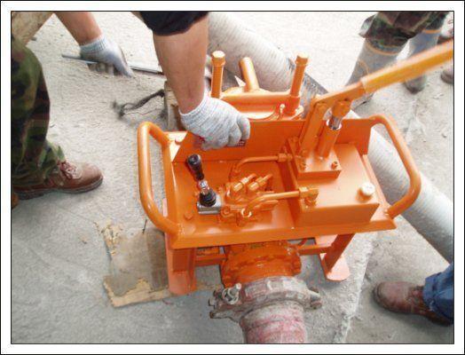 Gidravlicheskie zadvizhki betonovoda (Yuzhnaya Koreya) pompe à béton fixe neuf