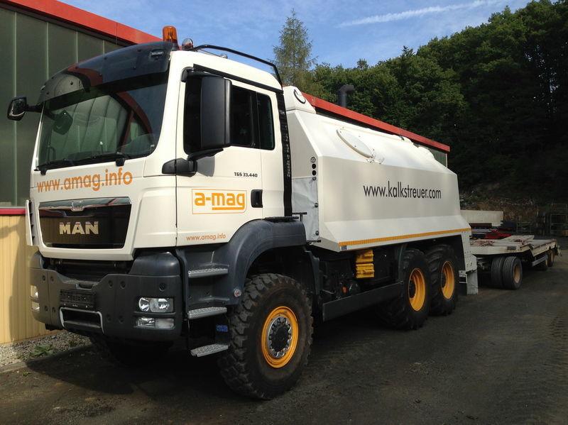 MAN TGS spreader 33.440 - 6x6 recycleur neuf
