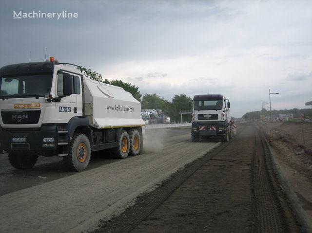 MAN amag cement spreader MAN TGS 33.440 - 6x6 recycleur neuf