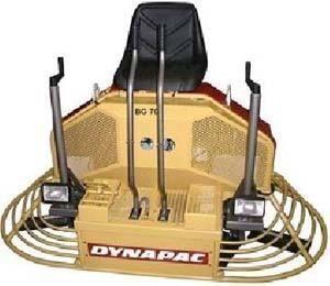 DYNAPAC BG70 truelle mécanique neuf