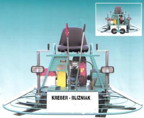 KREBER K-436-2-T Blizniak truelle mécanique neuf