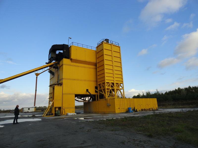 LINTEC CSD 3000 usine d'asphalte