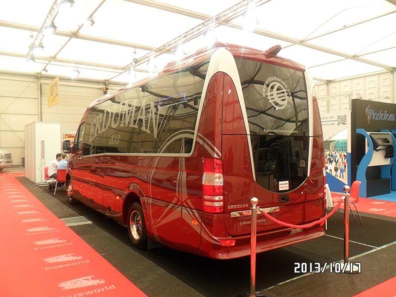 MERCEDES-BENZ SPRINTER LUXUS - ERDUMAN minibus de passager neuf