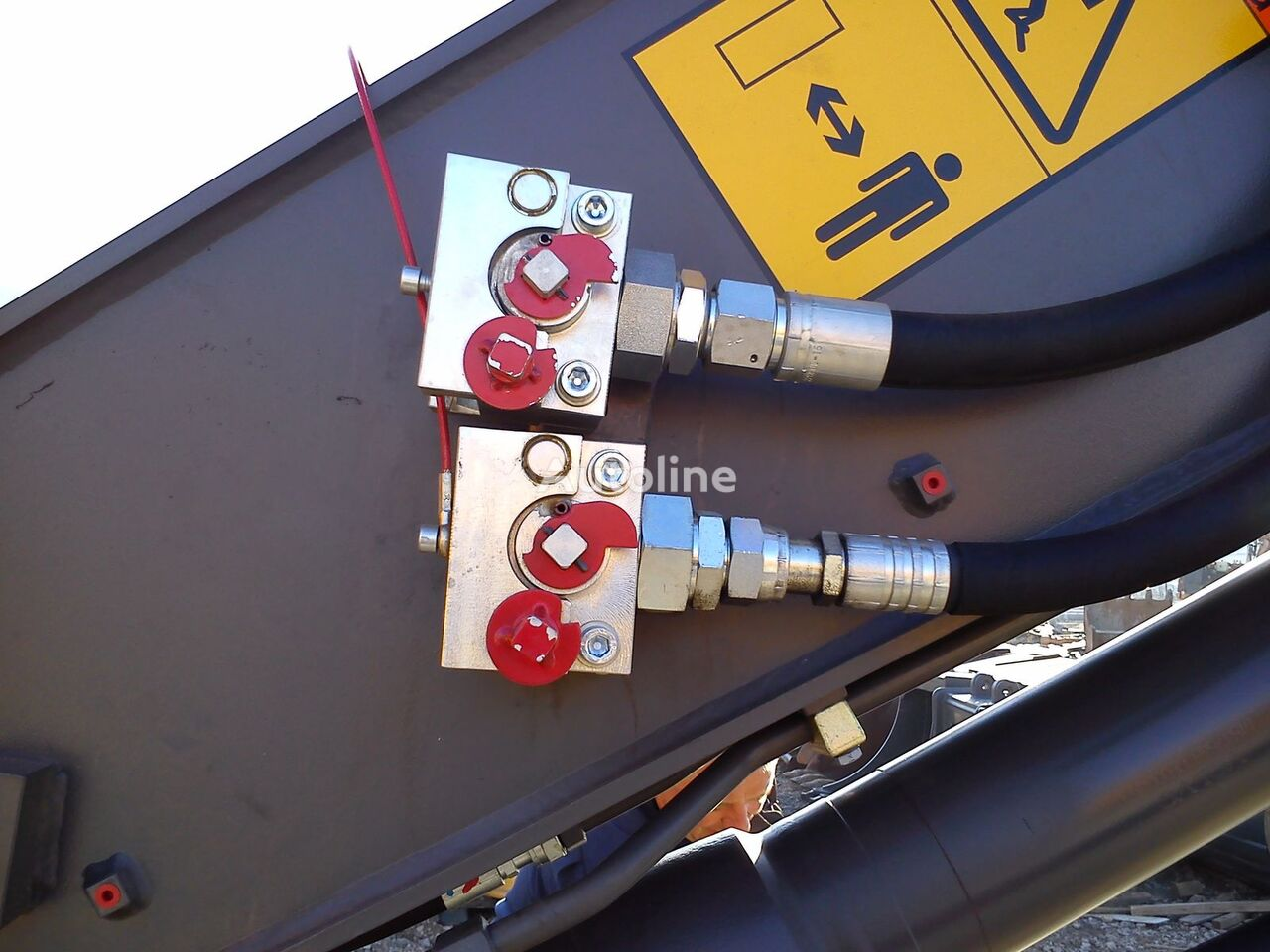 Balavto coupler B-Quick for hydraulic hoses attache rapide neuf