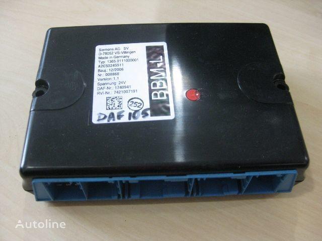 DAF 1365.0111000001 boîte de commande pour DAF camion