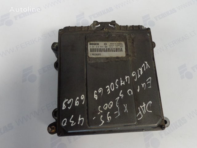 BOSCH ECU EDC Engine control 0281010045,1365685, 1684367, 1679021 (WORLDWIDE DELIVERY) boîte de commande pour DAF tracteur routier