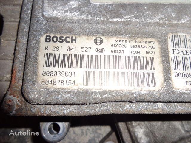 IVECO Euro3 engine control unit ECU EDC, BOSCH 0281001527 boîte de commande pour IVECO Stralis tracteur routier