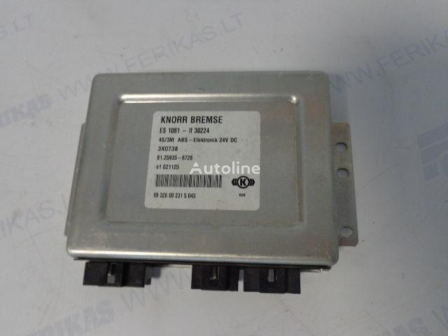 KNORR BREMSE ABS Elektronik 81259356728