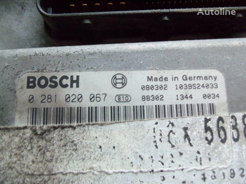 MAN TGA, TGX, engine computer EDC 480PS D2676LF05 ECU BOSH 0281020067 EURO4, 51258037544, 51258037563, 51258037834, 51258037674, 51258337008, 0281020067 boîte de commande pour MAN TGX tracteur routier