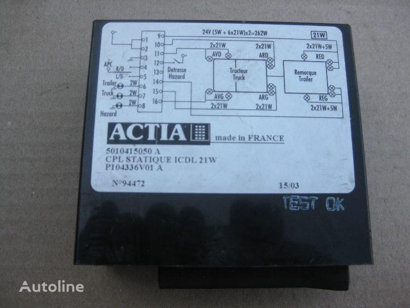 ACTIA boîte de commande pour RENAULT camion