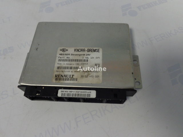 KNORR-BREMSE ABS control units 0486104049, 5010493009