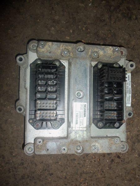 Scania R series engine computer, ECU, EDC, type DT1206, 1903886, 2061752, 2323675 boîte de commande pour SCANIA R tracteur routier