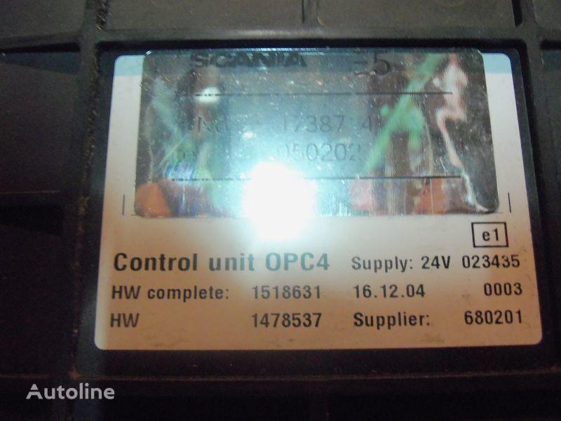 Scania R series OPC4 Control unit 1731140, 1750167, 17514664, 1754669, 1754674, 1754679, 1754684, 1754689, 1754694, 1754699, 1754704, 1754709, 1754714, 1754719, 1754728, 1754733, 1754738, 1918182, 1928717, 1933486, 1933264, 1936924, 2095496, 2149043 boîte de commande pour SCANIA R series tracteur routier