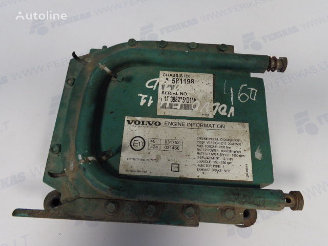 D12D engine control units EDC ECU 03161962, 08170700, 20977019