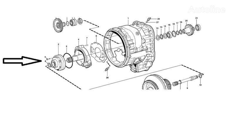 Pompa VOE11145264 boîte de vitesses pour VOLVO  L180E chargeur sur pneus neuf