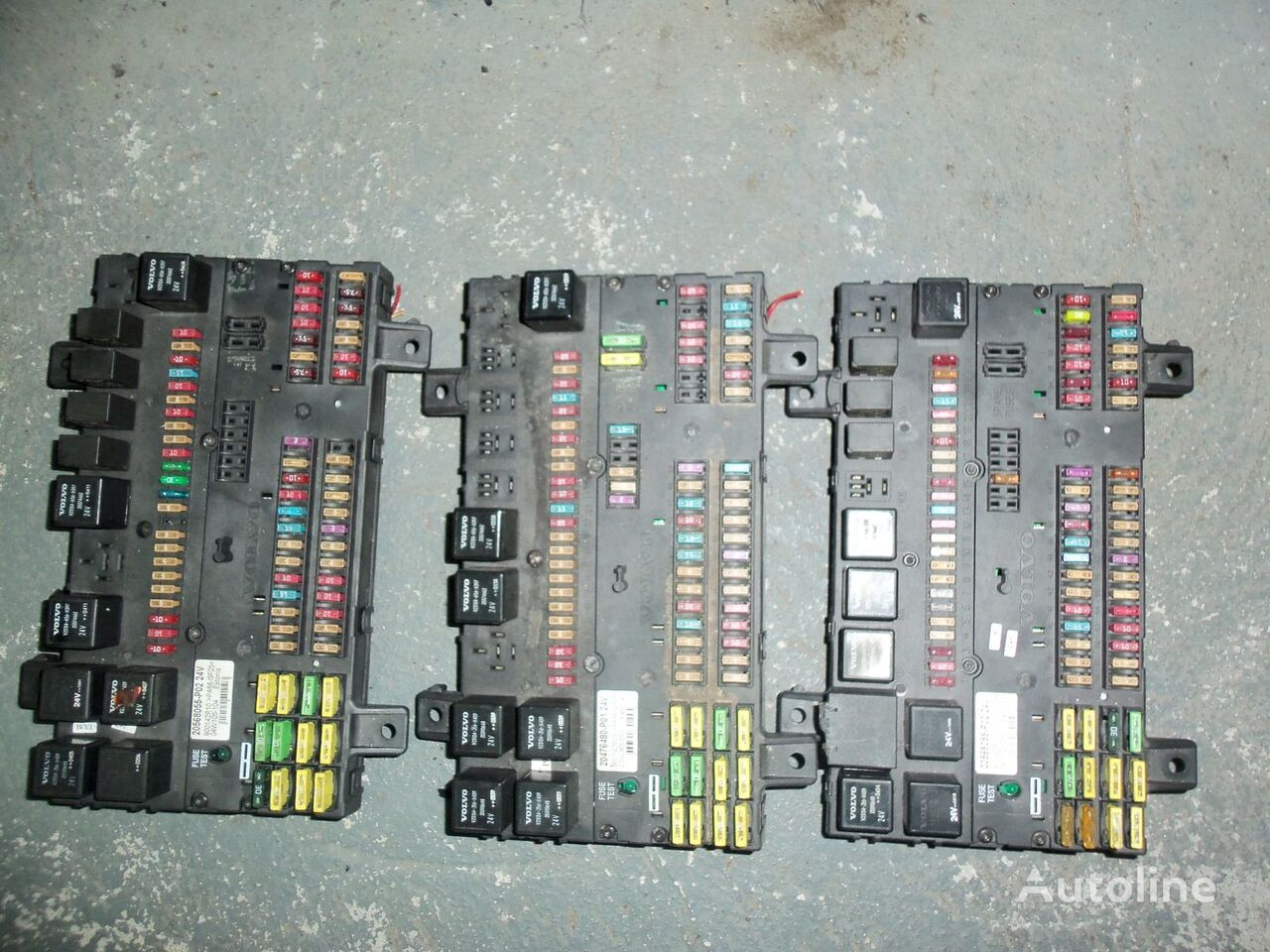 VOLVO FH13 fuse and relay center, central electrical box 20568055, 21732199 boîte à fusible pour VOLVO FH13 tracteur routier