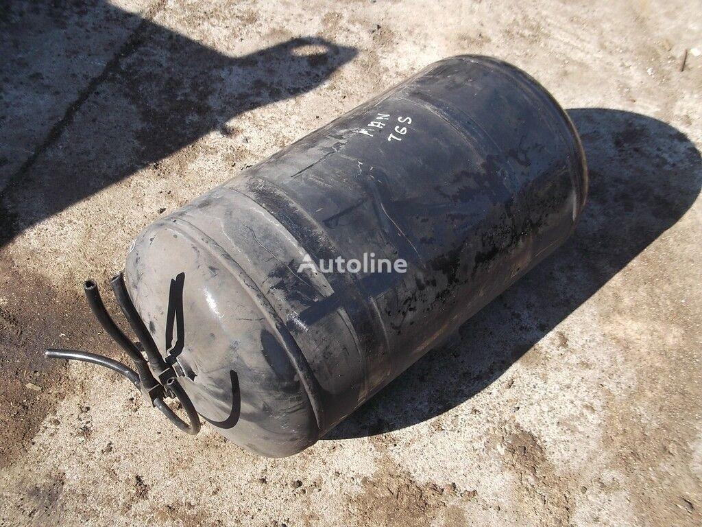 Vozdushnyy ressiver MAN Alyuminievyy. boîtier de filtre à air pour camion