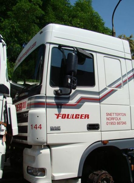 cabine pour DAF XF95 camion