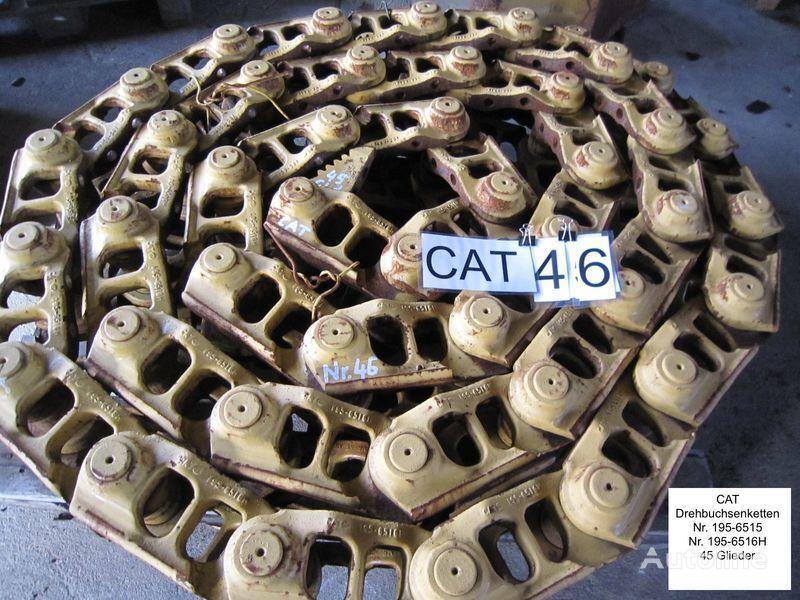 Kette /( Drehbuchsen) und Bodenplatten chenille caoutchouc pour CATERPILLAR D6 bulldozer