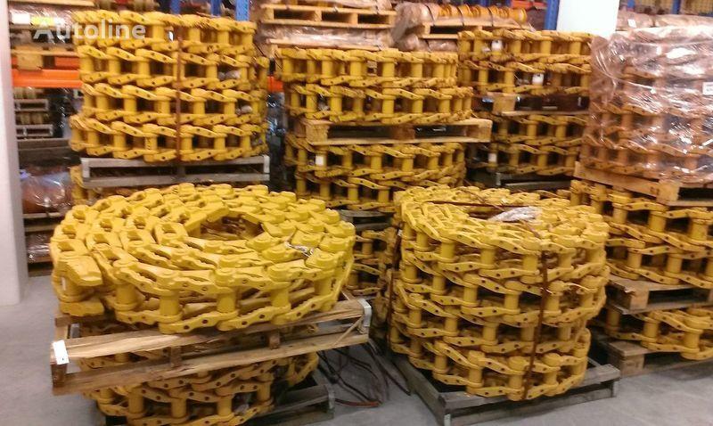 JCB roliki , cep, napravlyayushchie kolesa chenille caoutchouc pour JCB 130,160,180,220,240,260,290,330 excavateur neuf