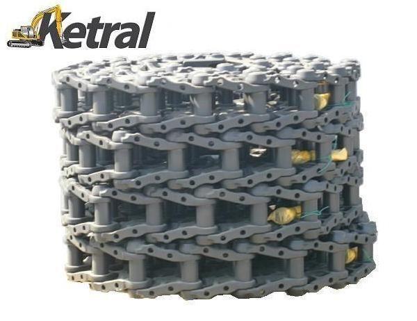 DCF track - ketten - łańcuch chenille caoutchouc pour JCB 210 excavateur