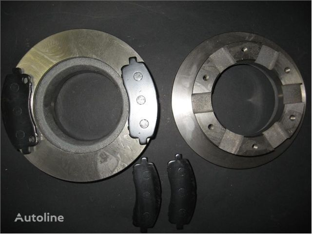 - BRAKE KIT (RR): BRAKE DISCS + PADS - disque de frein pour MITSUBISHI TARCZE HAMULCOWE + KLOCKI TYŁ MITSUBISHI FUSO 35 TARCZE camion neuf